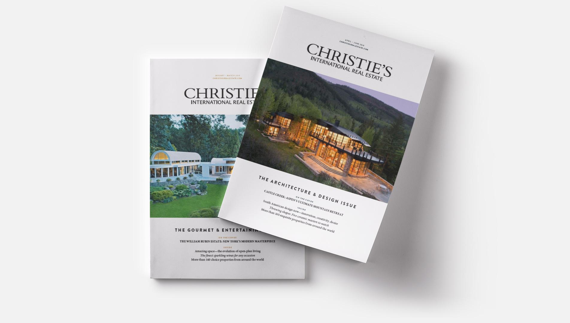 Christie's International Real Estate Magazines